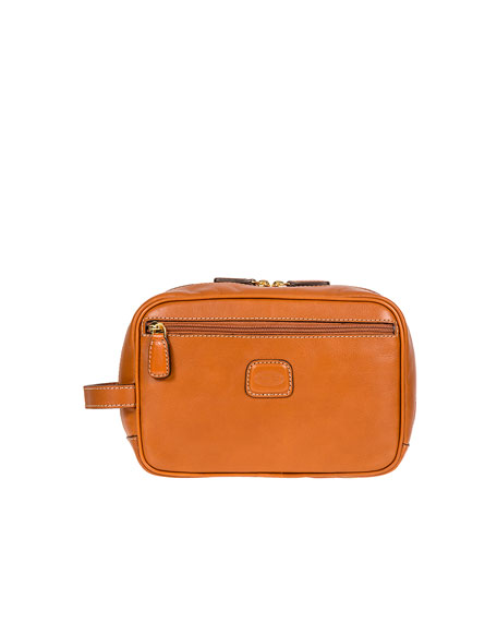 Bric's Life Pelle Travel Case