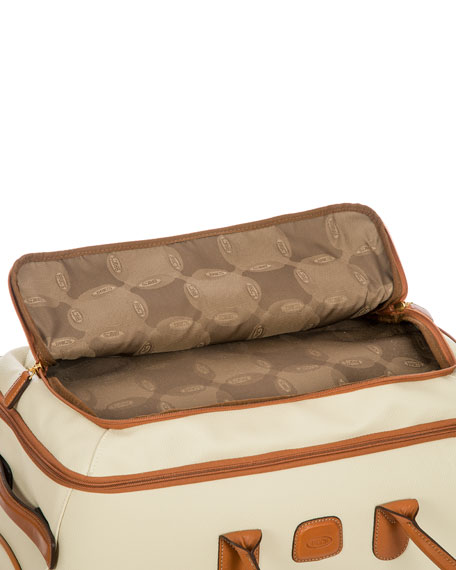 "Firenze 21"" Carry-On Rolling Duffle  Luggage"