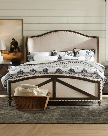 Analy Upholstered King Bed