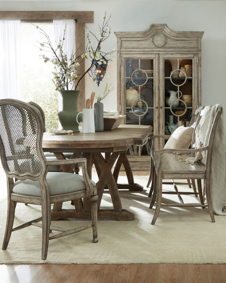 Charmant Hooker Furniture Lilith Trestle Dining Table