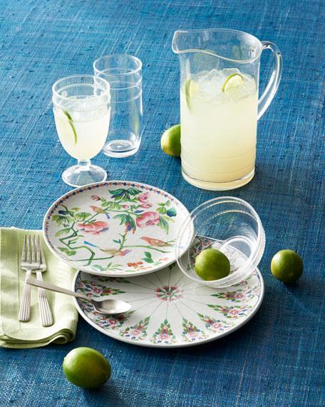 Lalana Floral Melamine Dinner Plate