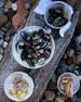 Sealife Whitewash Lobster Serving Bowl