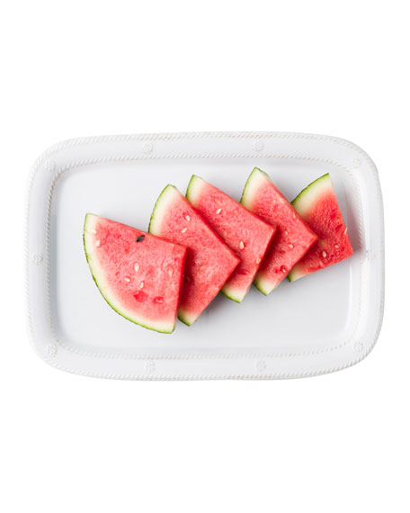 "Berry & Thread Whitewash 16"" Serving Tray/ Platter"