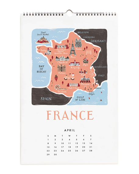 Maps of the World Calendar