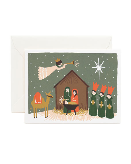 Nativity Boxed Card Set, Set of 8