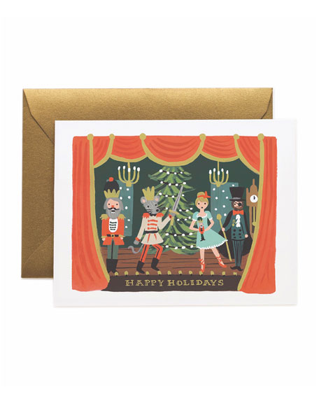 Nutcracker Scene Boxed Card Set, Set of 8