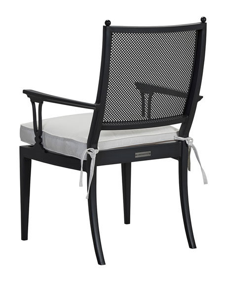 Winterthur Dining Arm Chair, Stripe