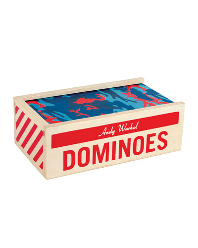 Andy Warhol Wooden Dominoes