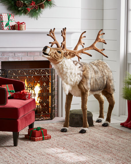 Song-Playing Reindeer, 65""