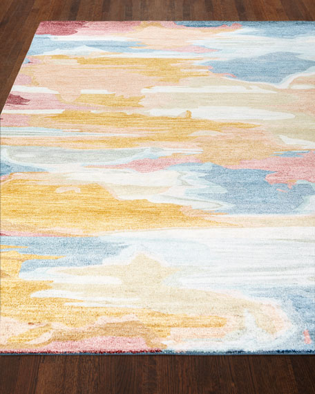 Maloy Hand-Tufted Rug, 5' x 8'
