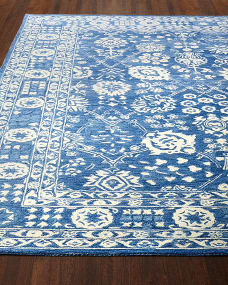 Camelia Hand-Knotted Rug, 8' x 11'