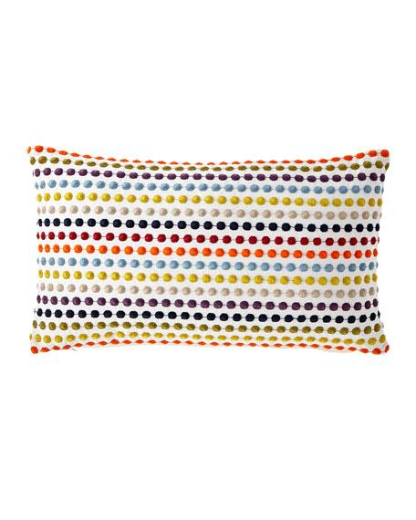 "Zita Carnival Pillow, 13"" x 22"""