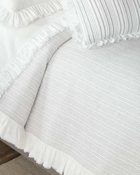 Regina Matelasse King Coverlet