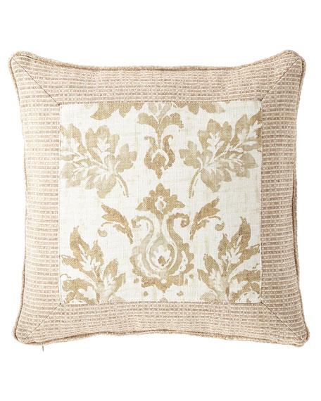 """Vanessa Framed Pillow, 20""""Sq."""