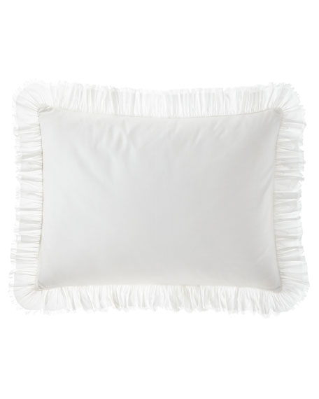 Laundered Ruffle King Sham