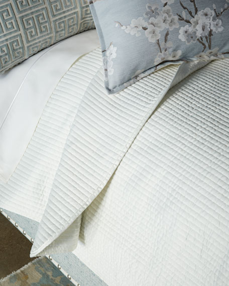 Lyssa King Channel Coverlet Set