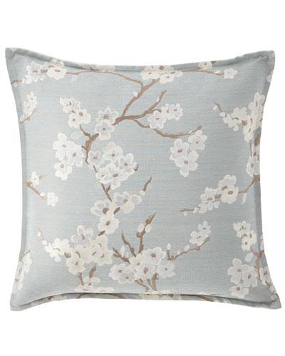 Lyssa Flower Pillow  22Sq.