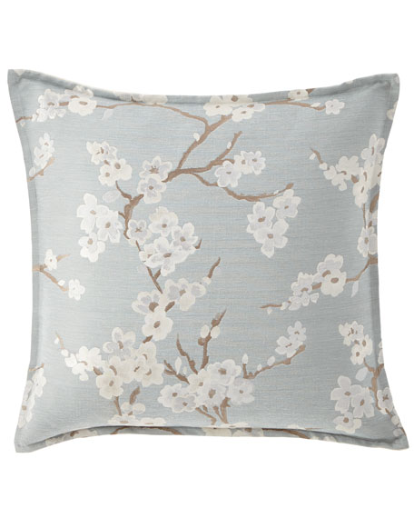 Isabella Collection by Kathy Fielder Lyssa Flower Pillow,