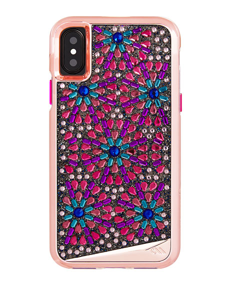 Case-Mate Brilliance Brooch iPhone X Case