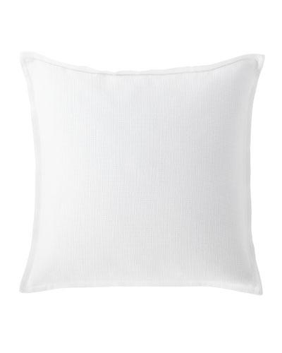 Flora Waffle Weave Decorative Pillow  20Sq.