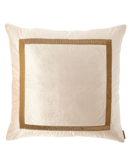 "Caesar Decorative Pillow, 26""Sq."
