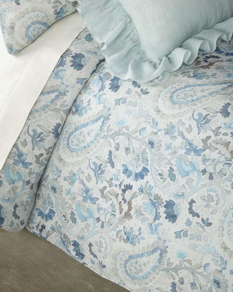 Ines Linen Full/Queen Duvet Cover
