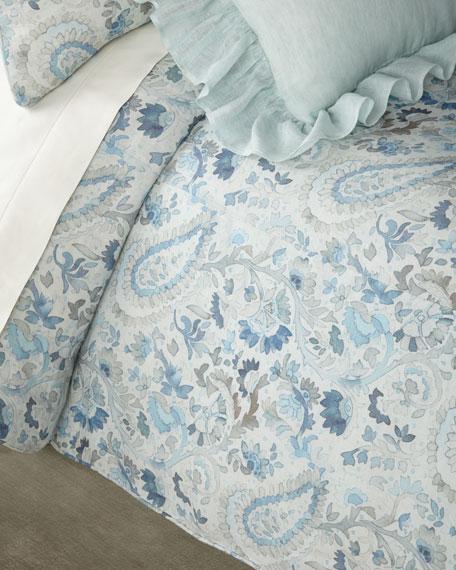 Ines Linen King Duvet Cover