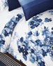 Flora Floral Full/Queen Comforter Set