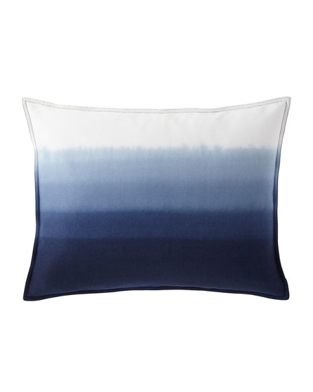"Flora Dip-Dye Decorative Pillow, 15"" x 20"""