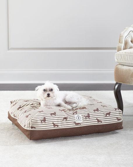 Harry Barker Small Ticking Envelope Dog Bed