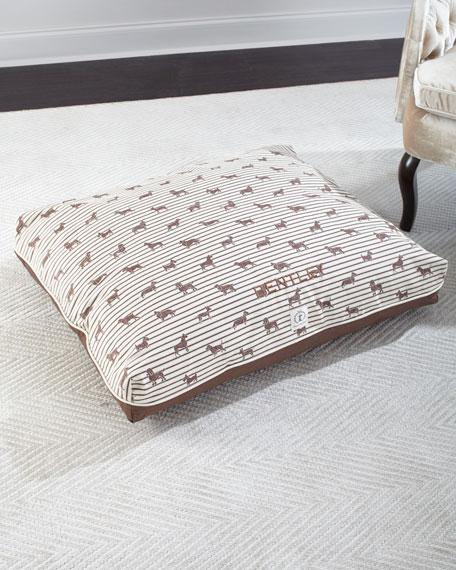 Harry Barker Medium Ticking Envelope Dog Bed