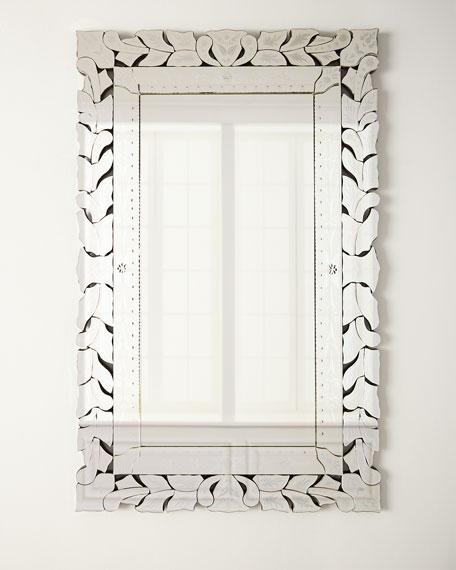 Rectangular Venetian Mirror