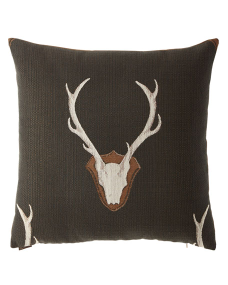 """Uncle Buck Pillow, 24""""Sq."""