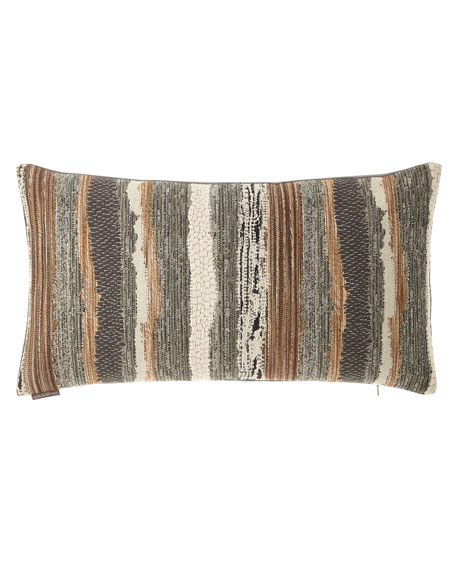 D.V. Kap Home Chindi Smoke Pillow