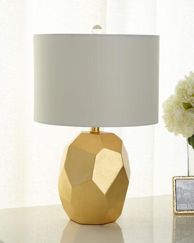 Resin Geode Table Lamp