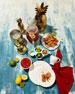 16-Piece Pineapple Dinnerware Service