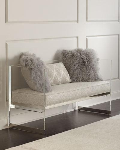 Merrilee Acrylic Bench