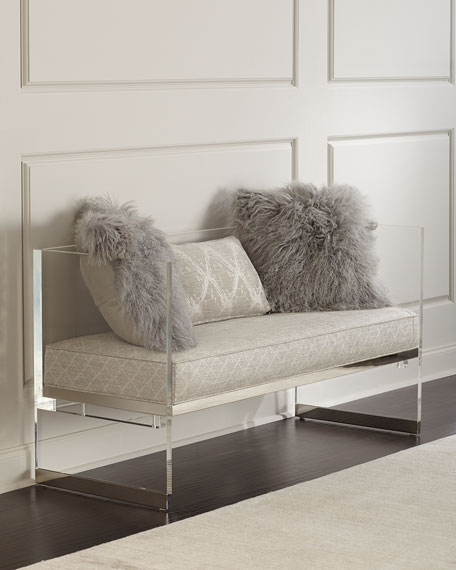 Merrilee Acrylic Bench