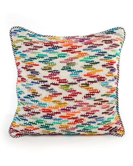 Zigzag Square Pillow