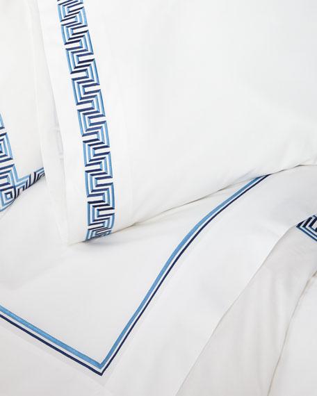 Casa Branca for SFERRA<br>Labirinto King Flat Sheet