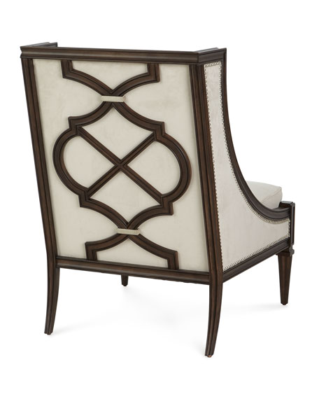 Evie Velvet Accent Chair
