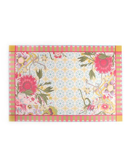 MacKenzie-Childs Florabundance Floor Mat, 2' x 3'
