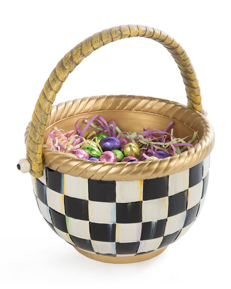Courtly Check Large Basket