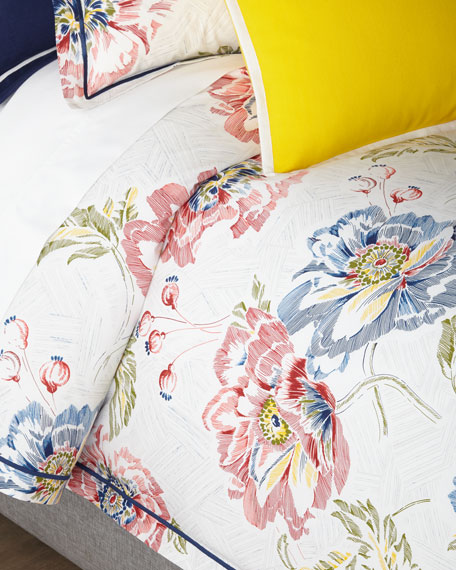 Isodora Floral Full/Queen Comforter Set