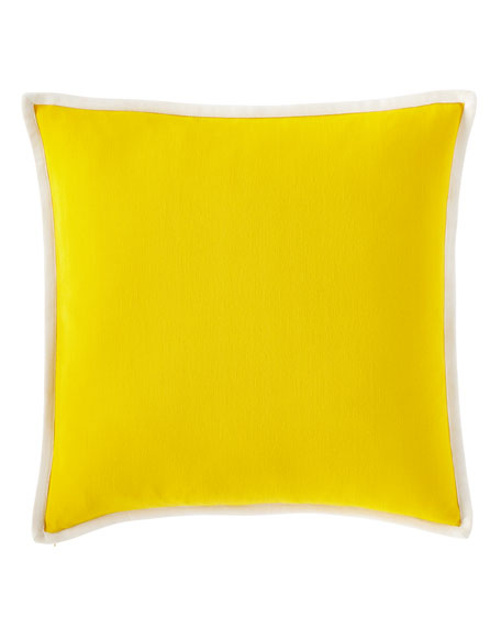 "Isadora Solid Decorative Pillow, 20""Sq."