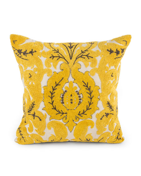 MacKenzie-Childs Nectar Square Pillow