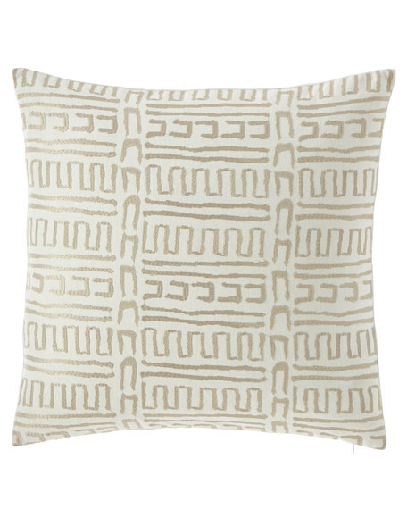 "Cleary Pillow, 22""Sq."