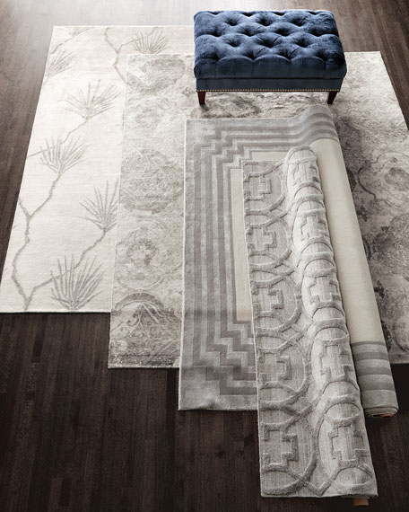 Chattingham Hand-Knotted Rug, 6' x 9'