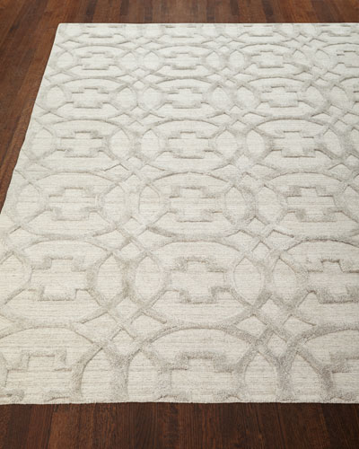 Belmar Circles Hand-Knotted Rug  12' x 15'