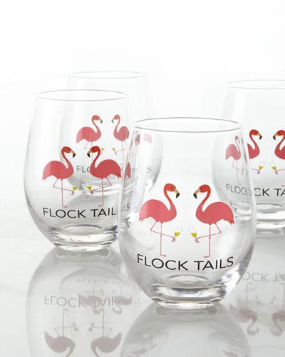 Flocktails Stemless Glass